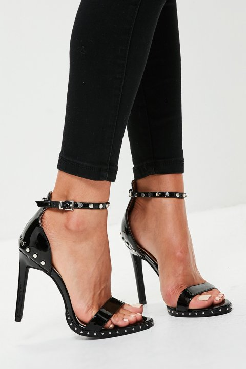 Missguided - Sandály Studded Sole Barely There